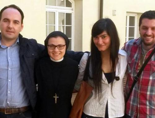 Incontro a Vilnius con suor Cristina