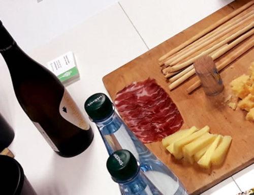 Prima degustazione di vini italiani presso ITM